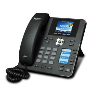 VIP-2140PT Planet High Definition Color PoE IP Phone with Dual Display